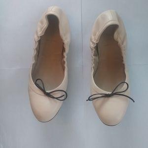 J Crew Ballet  Emma Nude  Ballet Flats Size 10